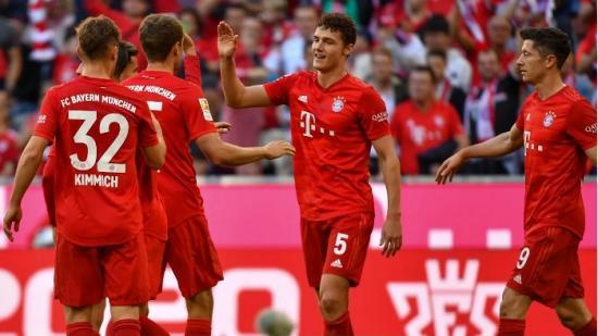 Русскоязычный сайт футбольного клуба бавария